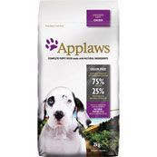 Applaws No Cereal Complete Large Breed Dry Puppy Food Chicken.