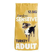 Burgess Sensitive Complete Adult Dog Turkey and Rice