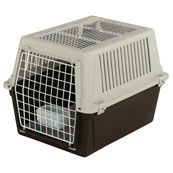 Atlas 10 Wire Door Open Top Carrier for Cats and Small Dogs