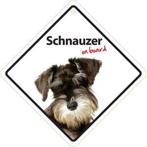 Image for Schnauzer On Board from Pets At Home