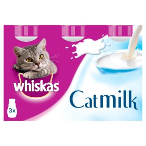 Image for Whiskas Cat Milk 200ml 3 Pack from Pets At Home