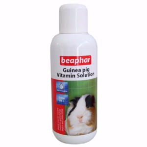 Image for Guinea Pig Vitamin Solution 100ml by Beaphar from Pets At Home