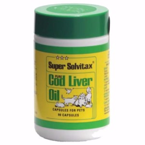 Image for Super Solvitax Cod Liver Oil Capsules 90 from Pets At Home
