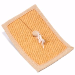 Image for Willow's Scratch Mat with Catnip for Cats from Pets At Home