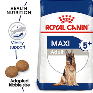 Image for Royal Canin Maxi Adult 5+ Complete Dog Food with Poultry from Pets At Home
