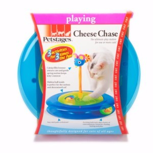 Image for Cheese Chase 3-in-1 Cat Toy from Pets At Home