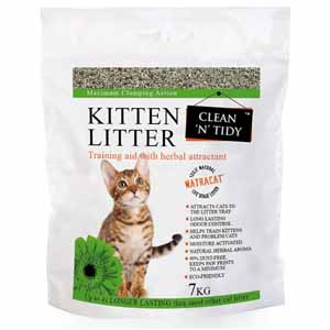 Image for Clumping Kitten Litter 7kg from Pets At Home