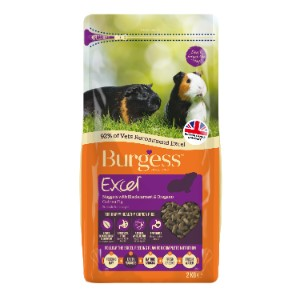 Image for Burgess Excel Tasty Nuggets Guinea Pig Food with Blackcurrant and Oregano 2kg from Pets At Home