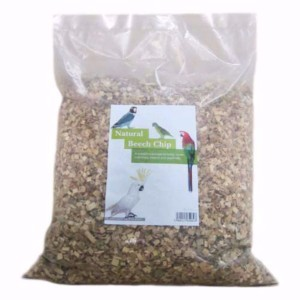 Image for Natural Beech Chip Bird Cage Floor Dressing 20ltr from Pets At Home