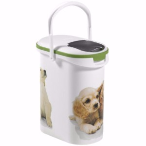 image for curver dog food storage container holds 4kg from pets at home