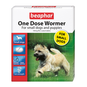 Image for One Dose Wormer for Dog and Puppy from Pets At Home