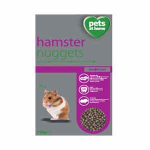 Image for Hamster Nuggets 750gm from Pets At Home