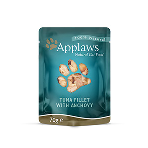 Image for Applaws Tuna Fillet and Whole Anchovy cat food70g from Pets At Home