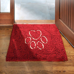 Image for Dirty Dog Doormat Red by Dog Gone Smart from Pets At Home