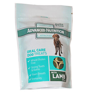 Image for Advanced Nutrition Oral Care Dog Treats 200g from Pets At Home