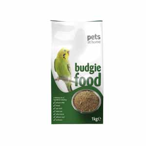 Image for Pets at Home Budgie Food 1kg from Pets At Home