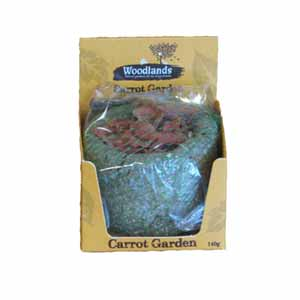 Image for Woodlands Carrot Garden 140g from Pets At Home