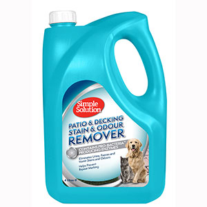 Image for Simple Solutions Stain + Odour Remover 4 Litre from Pets At Home