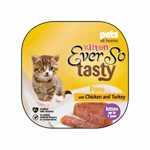 Image for Ever So Tasty Alu Kitten Chicken and Turkey from Pets At Home