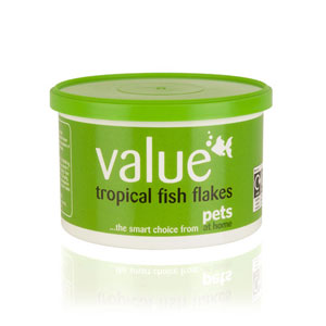 Image for Value Tropical Fish Flakes 25g from Pets At Home
