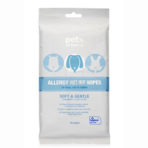 Image for Allergy Relief Wipes for Dogs, Cats and Rabbits with Byotrol from Pets At Home
