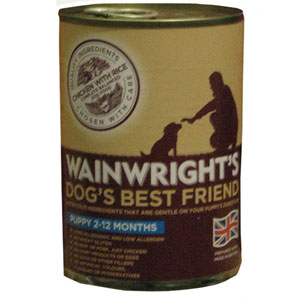 Image for Wainwright's Puppy Food with Chicken 400g from Pets At Home