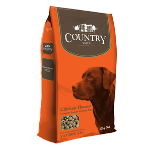 Image for Country Value with Chicken Adult Dog Food 12kg from Pets At Home