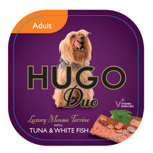 Image for Hugo Adult Tuna with Whitefish 100g from Pets At Home