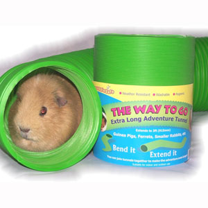 Image for Guinea Pig Adventure Tunnel from Pets At Home