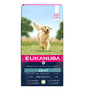 Image for Eukanuba Adult Large Breed Rich in Lamb and Rice from Pets At Home
