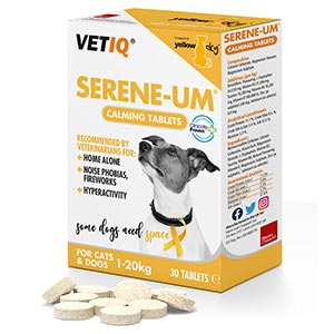 Image for Serene-UM Cat and Dog Calming Tablets 30 Pack from Pets At Home