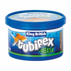 Image for Tubifex Natural Fish Food 10gm from Pets At Home