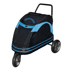 Image for Pet Gear Roadster Stroller Blue (Online Only) from Pets At Home