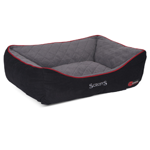Image for Scruffs Thermal Box Bed X-Large Black(Online Only) from Pets At Home