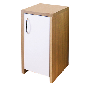 Image for Aqua One Inspire 40 Oak Cabinet With White Gloss Door from Pets At Home