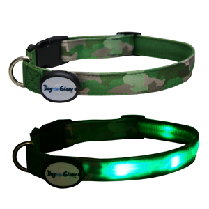 Image for DogEGlow Green Collar Large (Online Only) from Pets At Home