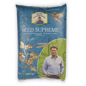Image for Alan Titchmarsh Seed Supreme Mix 4kg (Online Only) from Pets At Home