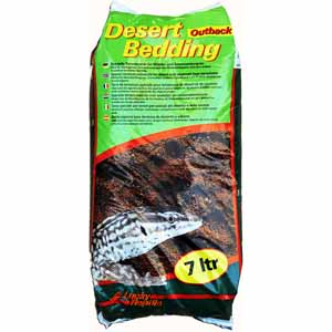 Image for Lucky Reptile Desert Bedding Outback Red 7L (Online Only) from Pets At Home