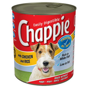 Image for Chappie Chicken and Rice 825g from Pets At Home