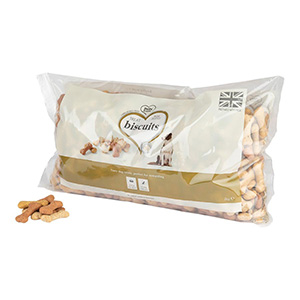 Image for Small Biscuit Bones with Beef and Chicken Dog Treats 2kg from Pets At Home