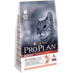 Image for PRO PLAN Adult Complete Cat Food with Salmon 3kg from Pets At Home