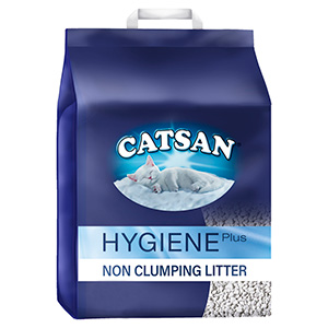 Image for Lightweight Non-Clumping Catsan Hygiene Cat Litter from Pets At Home