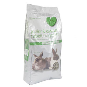 Image for Junior Nugget Rabbit Food from Pets At Home