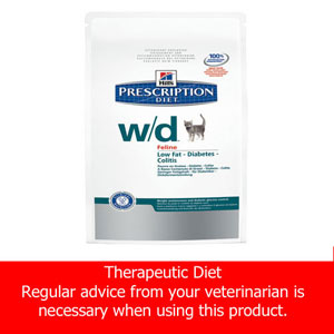 Image for Hill's Prescription Diet w/d Feline (Online Only) from Pets At Home