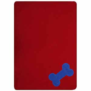 Image for Red Fur Friend Fleecy Blanket (Online Only) from Pets At Home