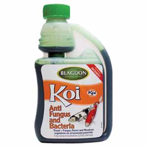 Image for Blagdon Pond Koi Anti Fungus And Bacteria (Online Only) from Pets At Home