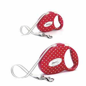 Image for Flexi Fashion Extending Lead Dots (Online Only) from Pets At Home