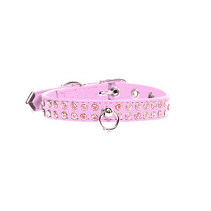Image for Jewel Dog Collar in Pink from Pets At Home