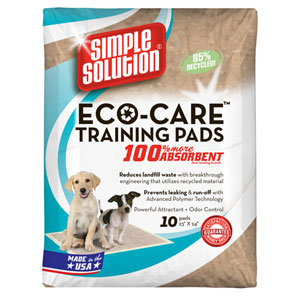 Image for Simple Solution Eco Care Training Pad (Online Only) from Pets At Home