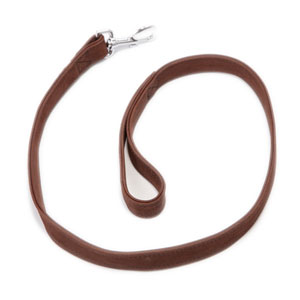 Image for Wainwright's Brown Leather Dog Lead from Pets At Home